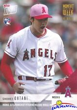 2018 Topps Moment the Week Shohei Ohtani GOLD WINNER LIMITED EDITION MINT /1333