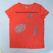 70% OFF!AUTH BABY GAP GIRLS' BIRD GLITTER GRAPHIC TEE 5 YRS BNEW US$12.99+