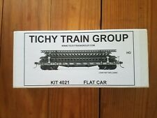 Tichy #4021 HO scale Flat Car Kit NEW