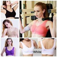 3 Pcs Women Sports Bra Set Yoga Seamless Gym Vest With Removable Pad Shapewear