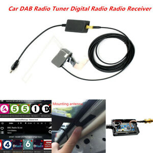 Car DAB Digital Tuner Radio USB Dongle Antenna Receiver Android Navigation DVD