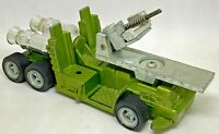 DINKY TOYS Vintage 1978 GALACTIC WAR CHARIOT No Figures NO Missile Green #361