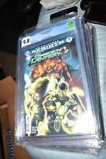 Green Lanterns #1 Rebirth CGC 9.8 1st Print Sold out