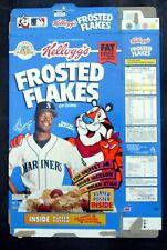 Kellogg's Frosted Flakes Cereal Box 1994 Ken Griffey_Nolan Ryan_ Reggie Jackson