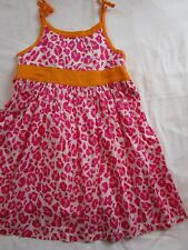 Girl 5 Pink animal print dress sundress CARTER'S Easter Spring Summer Vacation