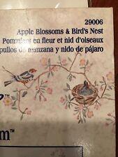 Wall Stencil  Apple Blossoms and Bird's nest   NIP  Wall Art decor
