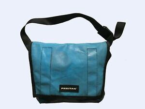 Freitag Recycled BIG Messenger Cycling Bag Blue