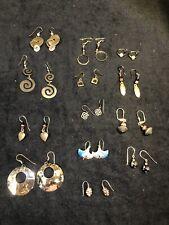 Vintage Bohemian Style Pierced Earrings