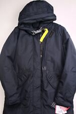 Parajumpers Womens Tank Base Hooded Down Coat XXL Navy Blue