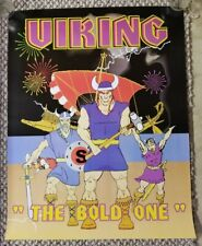 Viking Fireworks Promo Poster 4th of July Firecracker Promotional