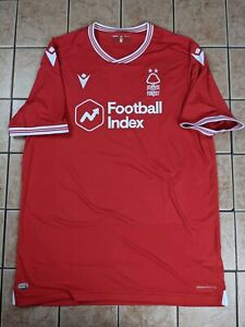 Nottingham Forest FC 20/21 Home Authentic Blank Jersey Men's Macron Red NWT