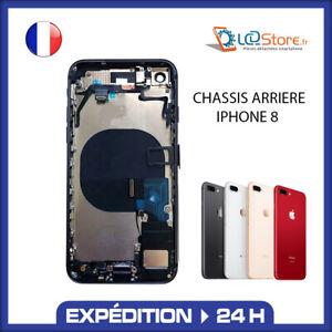 Châssis complet arrière IPhone 8 Noir Or Blanc Rouge avec nappe