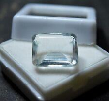 10+ Karat Smaragdschliff  White Sapphire seltensten Edelstein für Ring