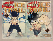 Fairy Tail Ice Trail English Manga set volumes 1-2 Graphic Novels paperback new