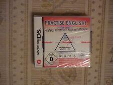 Nintendo DS Spiel Practise English Neu & OVP Lernsoftware Englisch Schule Beruf