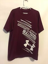 Mississippi State Bulldogs Under Armour Short Sleeve Shirt Size YSM