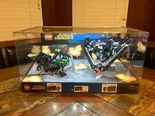 LEGO KRYPTONITE INTERCEPTION 76045 HEROES OF JUSTICE 76046 DISPLAY CASE NEW RARE