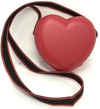 Tupperware Heart Keeper Purse With Strap Valentine Red NEW