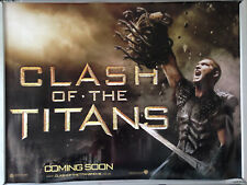 Cinema Poster: CLASH OF THE TITANS 2010 (Medusa) Sam Worthington Ralph Fiennes