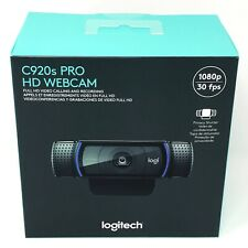 Logitech C920s Pro HD 1080p Webcam with Privacy Shutter - In Hand Fast Shipping