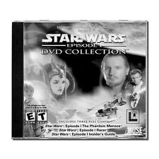 STAR WARS: EPISODE 1, DVD COLLECTION - Games & Insiders Guide ( RARE ITEM, PC )
