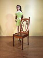 "2 chairs for Barbie FR BJD Dolls 12"" 1/6 furniture handmade diorama OOAK V15"