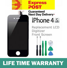 For iPhone 4S Replacement LCD Digitizer Front Screen Assembly Panel Tools Black
