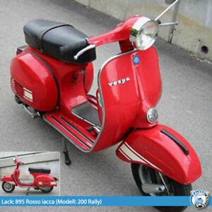Vespa 0,5l Lack Max Meyer Rosso lacca 895 Rally 200 PX 200 P200E P200 (1l=70€)
