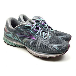 Brooks Ravenna Running Athletic Shoes Women's Lace up Gray Size 9.5