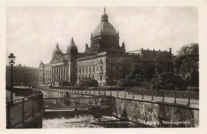 Postcard Ephemera Leipzig Reichsgericht Germany DEU Supreme Criminal Civil Court