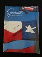 Gourmet Magazine March 1984 Texas Flag Dallas Mansion on Turtle Creek Old Warsaw