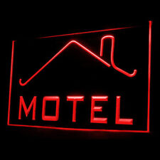 190031 Motel Open Shop Modern Clean Quiet Ideal Display Led Light Sign