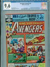 1981 MARVEL AVENGERS ANNUAL #10 1ST APPEARANCE ROGUE & MADELYNE PRYOR CGC 9.6