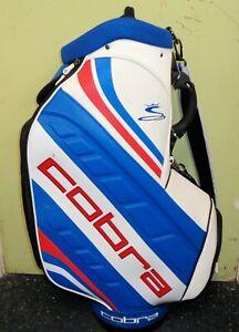 Cobra Limited Edition ONE Length Tour Bag 2 Sided White/Blue and Black/Orange