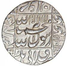 India Mughal Shah Jahan 1628-1658 AR Rupee Lahore AH1055//19 KM-235.17 Ch. AU