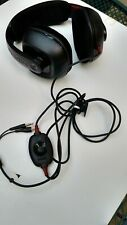 Plantronics GameCom  PC Gaming Headset color black condition used