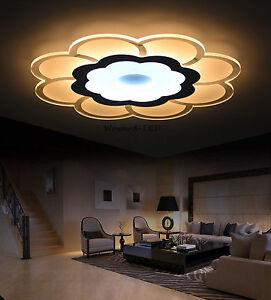 WOW! LED Deckenlampe Deckenleuchte 16W bis 108W dimmbar Lampe Beleuchtung Blumen