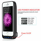 Phone Power Battery Case for iPhone 5 5S SE Charging Case 4800mAh -USPS Shipping