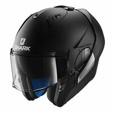 SHARK Evo-one nero opaco casco modulare helmet casque jet integrale
