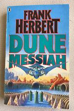 DUNE MESSIAH, Frank Herbert Paperback Book  1986