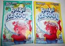 2 Vintage Kool-Aid Ice Cool Packets Points Arctic Green Apple Lemon Ice