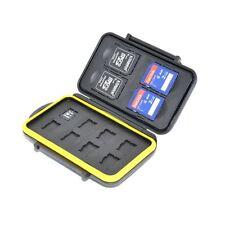 JJC MC-SDMSD12 Speicherkarten-Kasten passt 4 x SD, 8 x Micro SD Karten