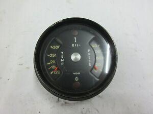 PORSCHE 911 COMBINATION GAUGE TEMP PRESS VDO 911.641.104.00