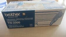 Brother Genuine TN - 2000 TONER CARTRIDGE  - £30 + VAT
