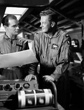 OLD CBS TV RADIO PHOTO Men Into Space TV show William Lundigan & John Milford 3