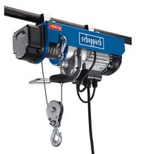 More details for scheppach hrs400 400kg electric hoist | 780w 240v