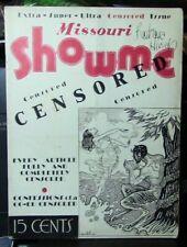 Missouri Showtime Magazine, 1935 Printing