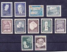 Österreich Jahrgang  1953 postfrisch** 11 Werte