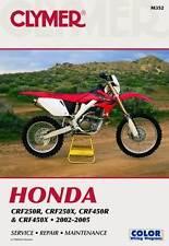 Clymer Manual Honda CRF250 & CRF450 2002-2005 M352 NEW