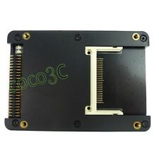 """2 CF to 44P IDE adapter 2.5"""" HDD case to dual CF slots converter  CF card reader"""